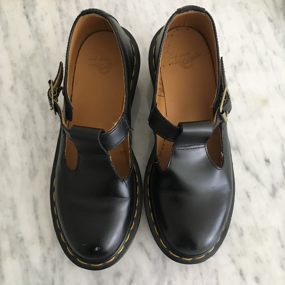 f3a3c841af5 Dr. Martens Shoes - Dr. Martens Sophia Mary Jane black t bar shoes
